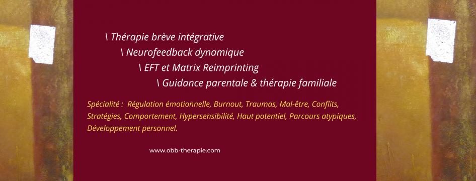 OBB Thérapie - One Brain and Body beyond