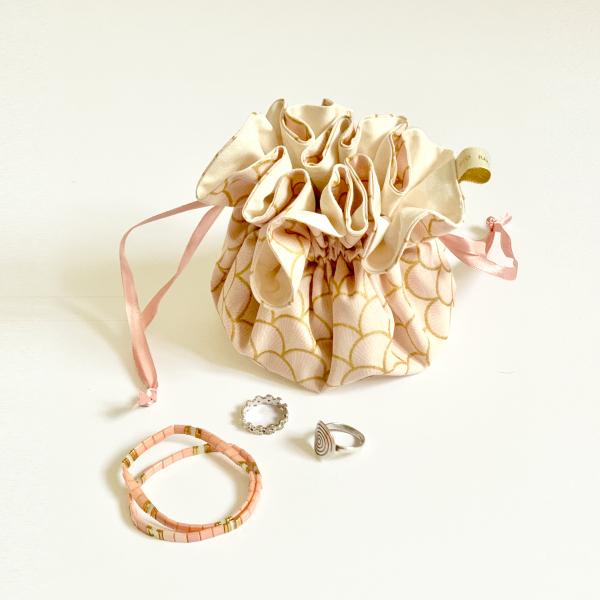 La Fourmi Elé   Pochette à bijoux compartimentée